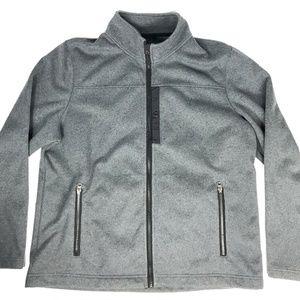 LL Bean Mens XL Regular Grey Full Zip Jacket